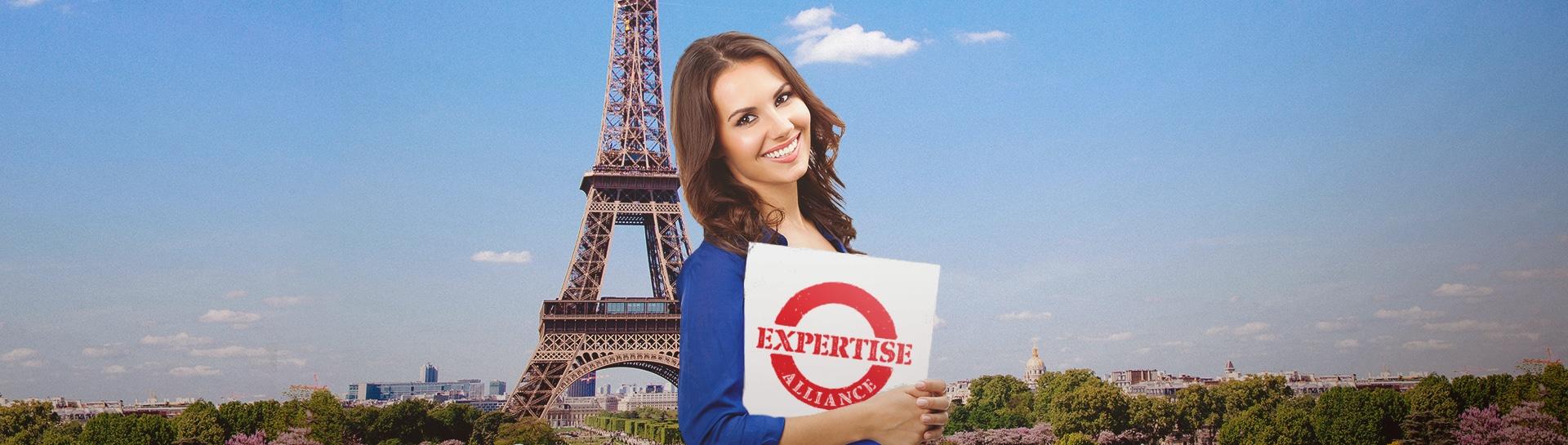 Nuestro programa de Expertise Alliance te permite vivir, trabajar y etuiar en Francia.