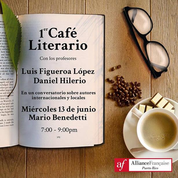 Entre todos nuestros eventos culturales tenemos también eventos literarios. Comparte en este conversatorio de las obras de escritores locales e internacionales. Se hablará del autor, escritor y activista.