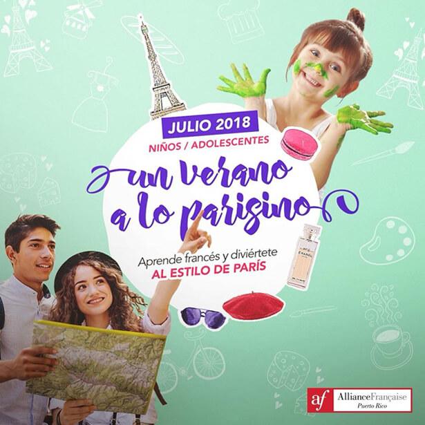 Campamento de verano para aprender francés y aprender de la cultura francófona. Diversión, entretenimieto y aprendizaje durante el verano