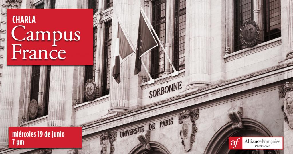 Charla Campus France - junio 2019
