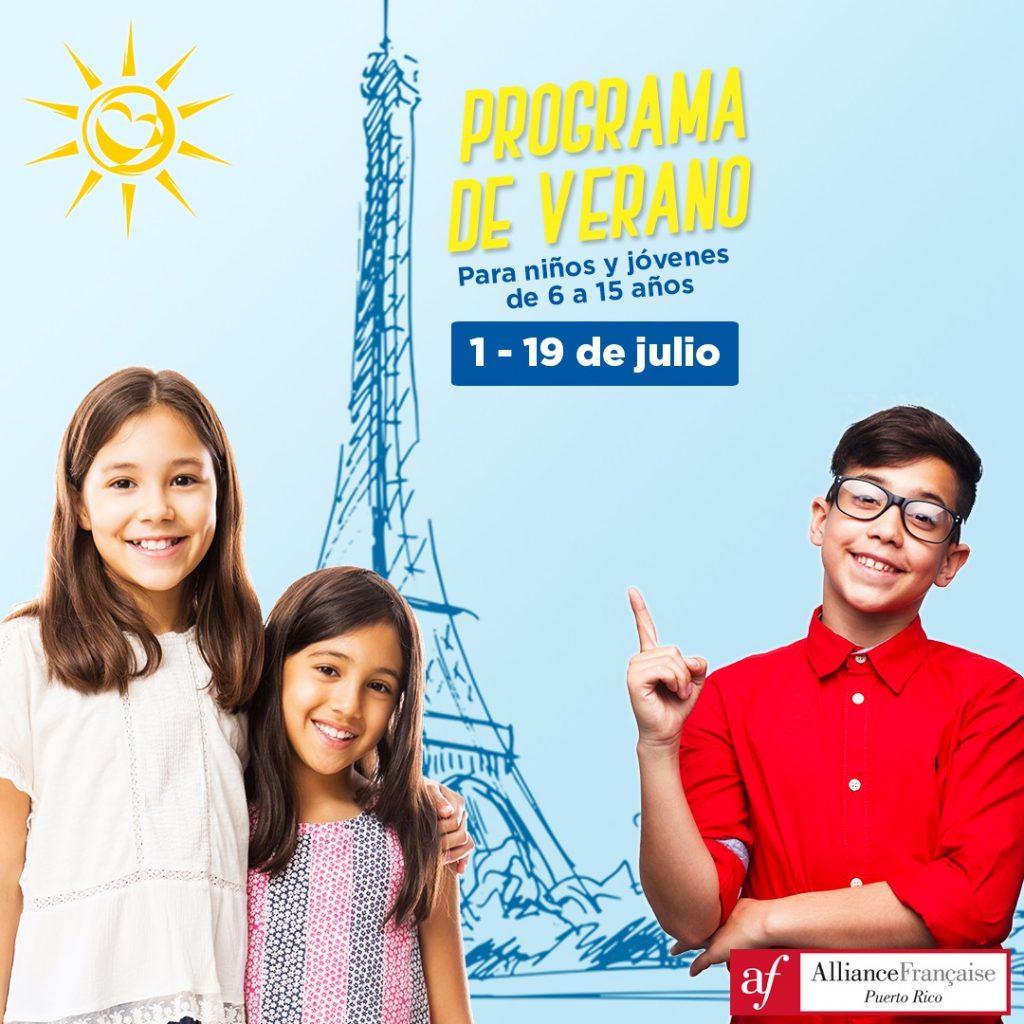 Programa de Verano para Niños y Adolescentes - Alliance Française Puerto Rico
