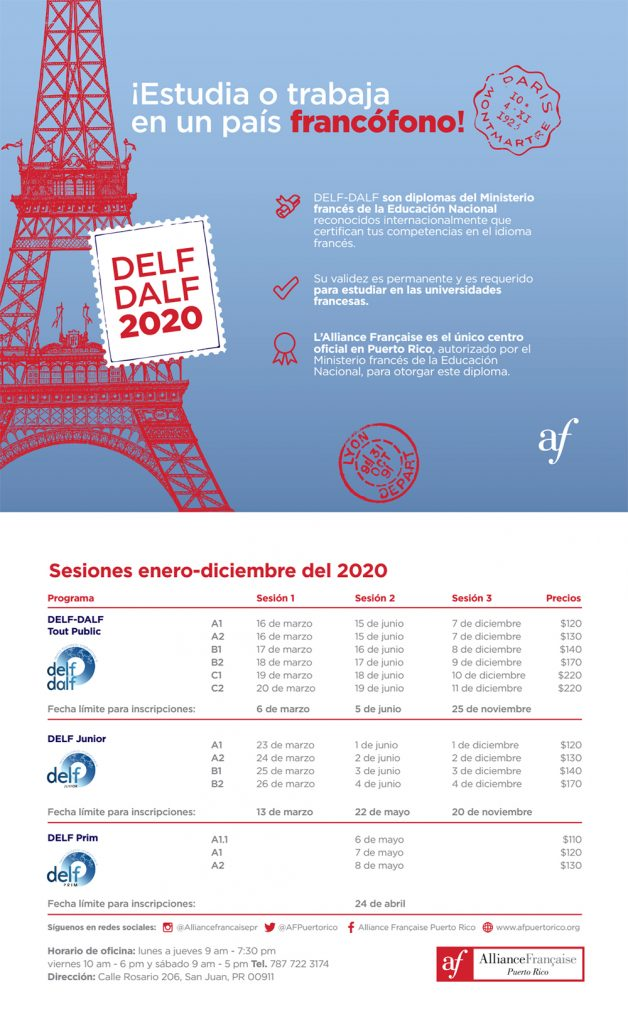 DELF DALF Puerto Rico 2020 JPG 1