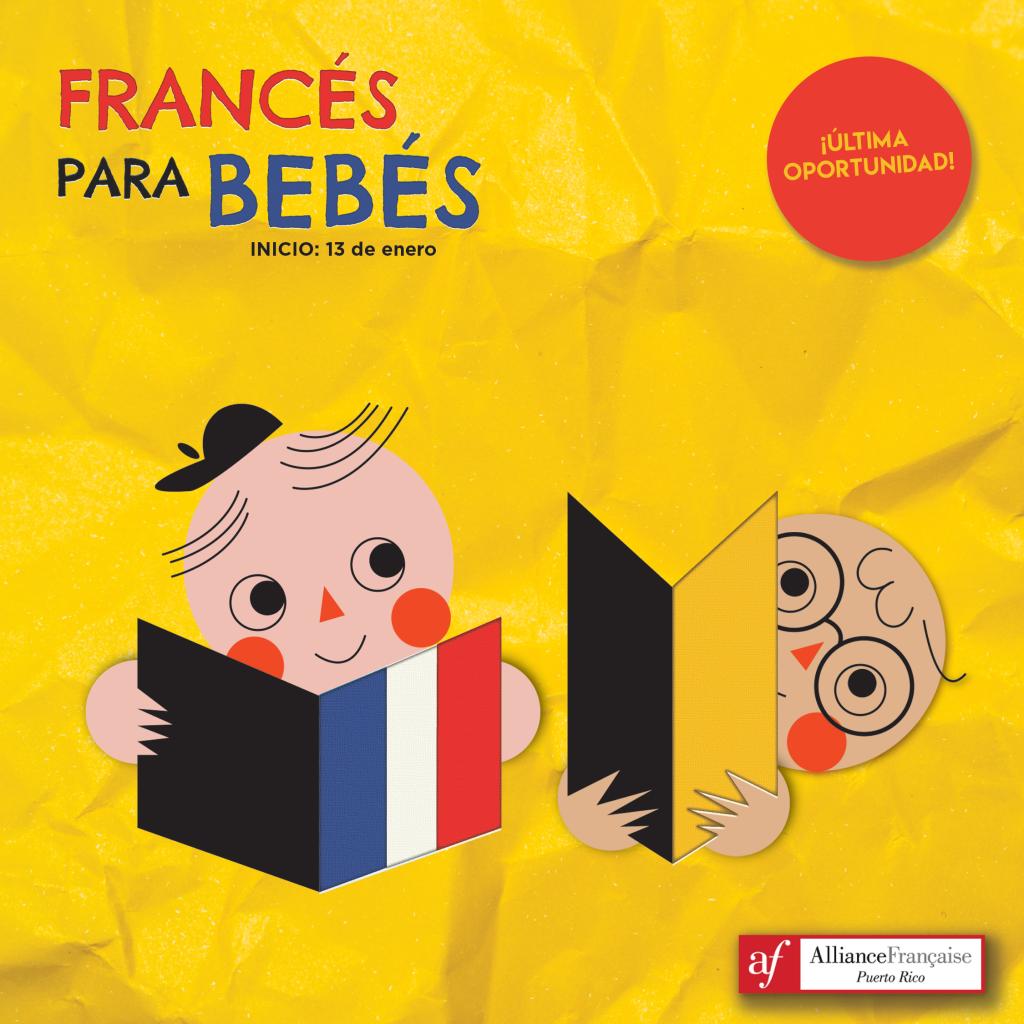 Cursos de francés para bebés en la Alliance Francaise Puerto Rico