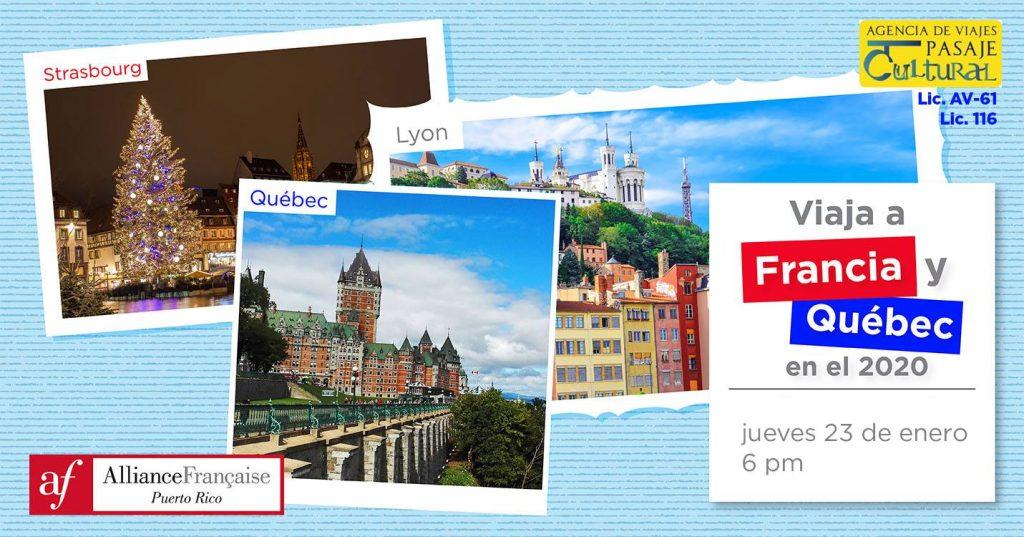 Viajes lingüísticos a Francia y Quebec en el 2020