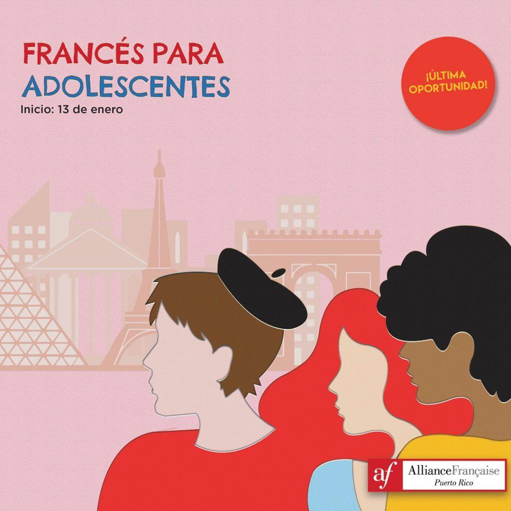Clases de francés para adolescentes en San Juan
