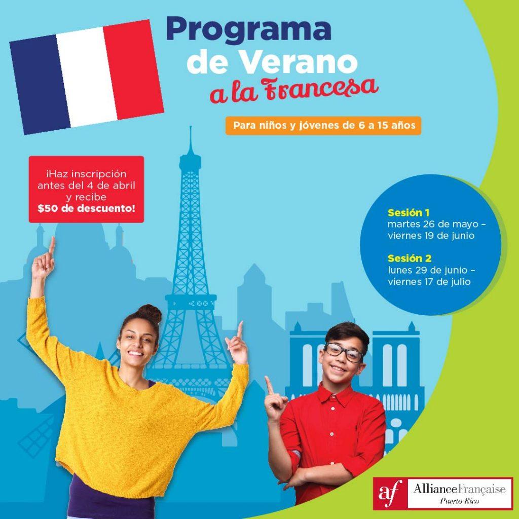 Programa de Verano a la Francesa