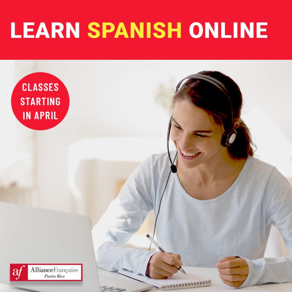 Inscríbete para clases de francés en San Juan en la Alliance Francaise.