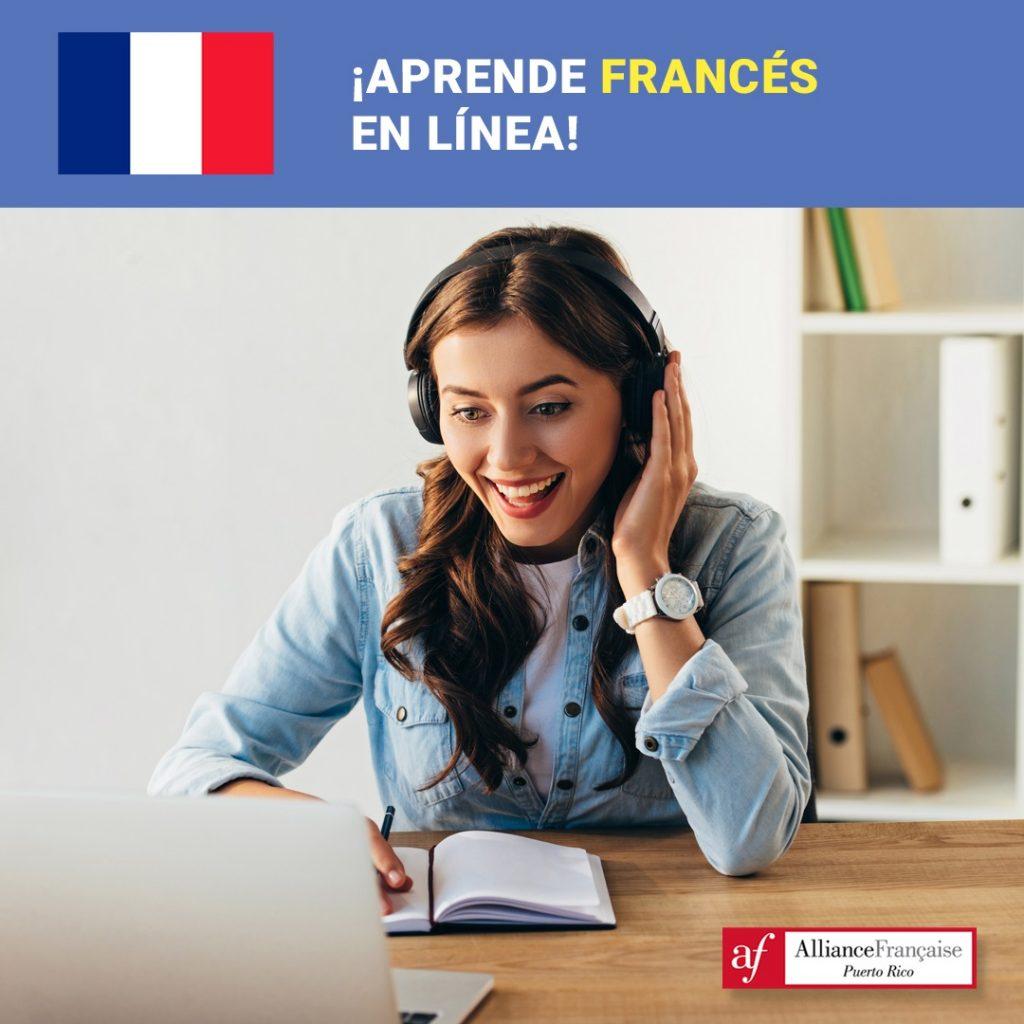 La Alliance Française ofrece cursos de francés online.