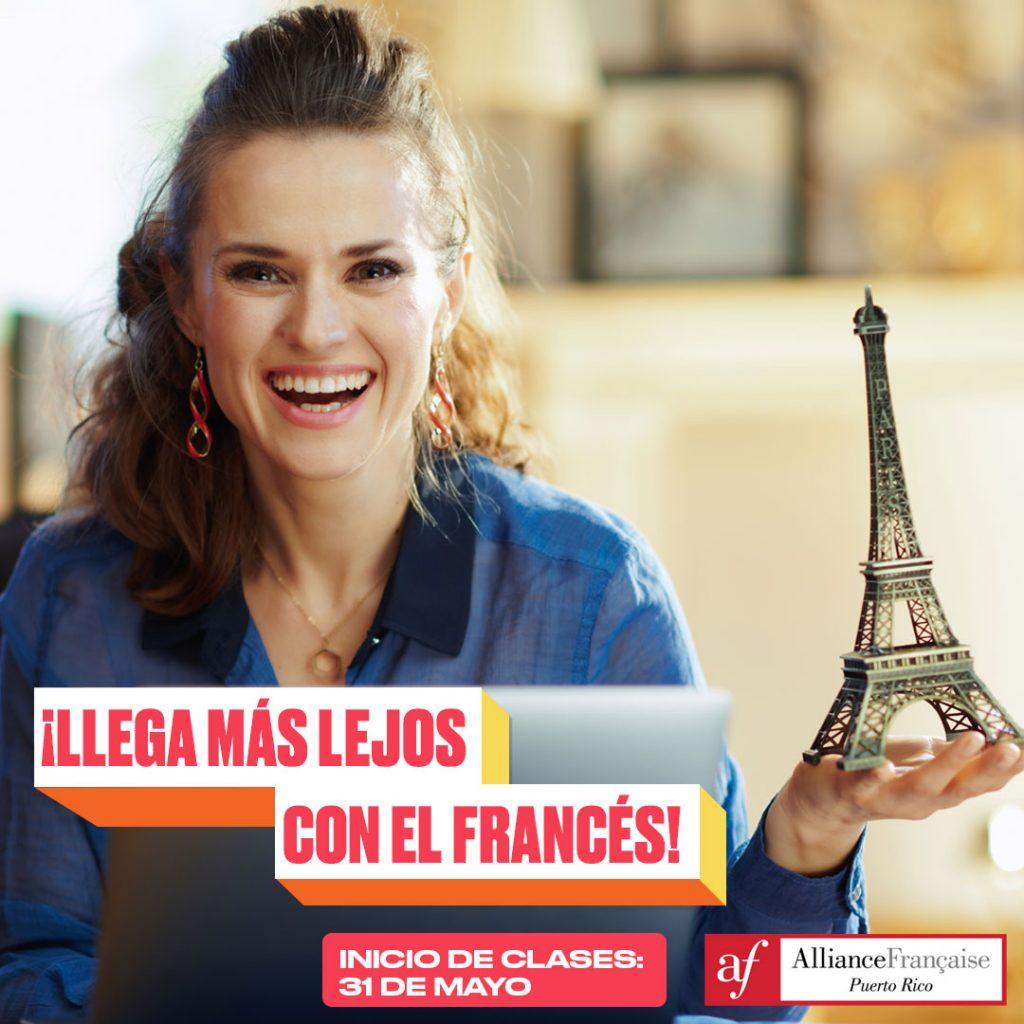 La Alliance Française de Puerto Rico ofrece cursos de francés online para adultos.