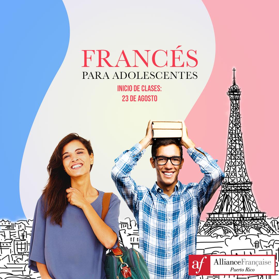 Clases de francés para adolescentes
