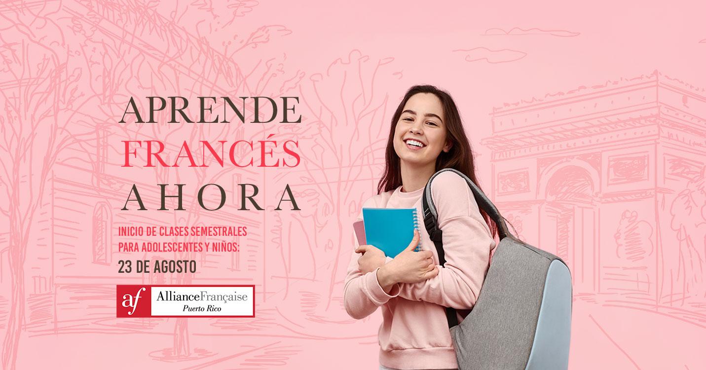 La Alliance Francaise de Puerto Rico ofrece cursos semestrales para niños y adolescentes